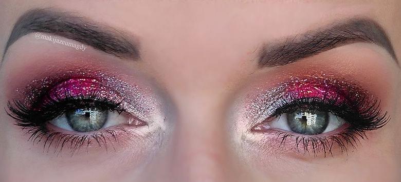 Karnawał i insta makeup